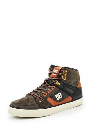 Кеды DC Shoes. Цвет: хаки