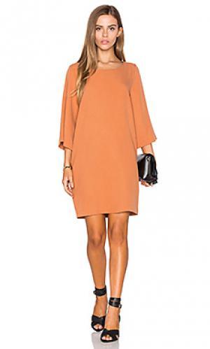 Мини платье atal SAM&LAVI. Цвет: оранжевый