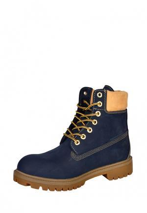 Ботинки Greyder. Цвет: синий