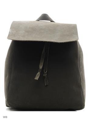 Рюкзак ШК обувь. Цвет: темно-серый, серый