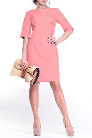Платье Laura Bettini. Цвет: темно-персиковый