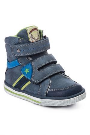 Ботинки PlayToday. Цвет: синий, голубой, желтый