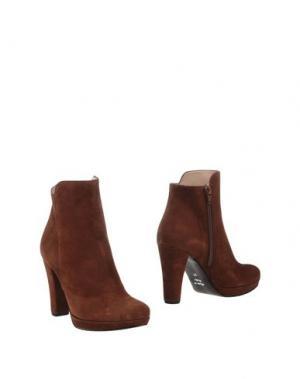 Полусапоги и высокие ботинки ELIANA BUCCI. Цвет: какао