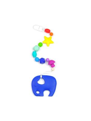 Игрушка-подвеска MamSi. Цвет: красный, желтый, синий