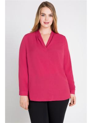 Блузка Bestiadonna. Цвет: розовый
