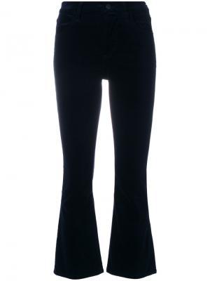 Укороченные расклешенные брюки Citizens Of Humanity. Цвет: синий