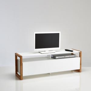 ТВ-тумба с откидной крышкой, Compo La Redoute Interieurs. Цвет: белый