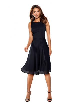 Платье PATRIZIA DINI by Heine. Цвет: белый, коралловый, серо-коричневый, темно-синий