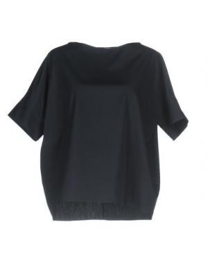 Блузка N_8. Цвет: темно-синий