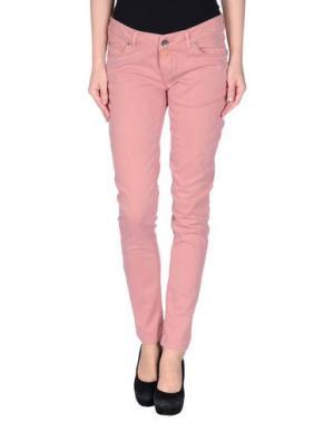 Повседневные брюки TIMEOUT. Цвет: пастельно-розовый