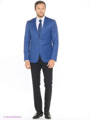 Пиджак Alfred Muller. Цвет: голубой