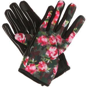 Перчатки сноубордические женские  Spring Glove Camo Neff. Цвет: мультиколор