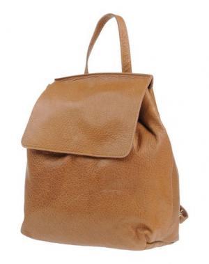 Рюкзаки и сумки на пояс MANIFATTURE CAMPANE. Цвет: верблюжий