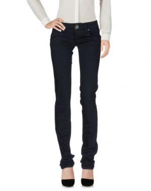 Повседневные брюки 2W2M. Цвет: темно-синий
