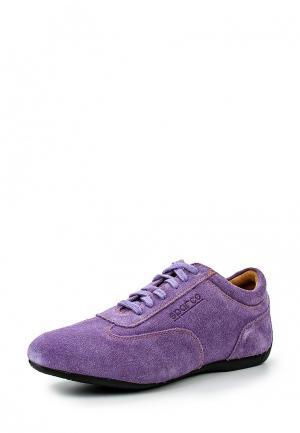 Кроссовки Sparco. Цвет: фиолетовый