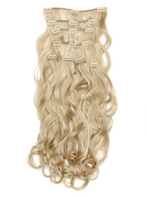Накладные волосы, пряди на заколках-клипсах Lana VIP-PARIK. Цвет: молочный, белый, светло-желтый