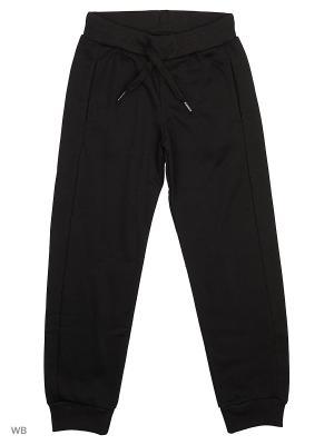 Трикотажные брюки Modis. Цвет: черный