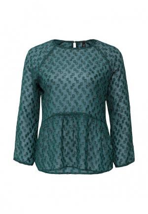 Блуза Bestia. Цвет: зеленый