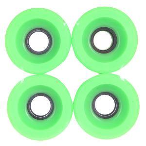 Колеса для скейтборда лонгборда  Longboard Green 83A 51 mm Pure. Цвет: зеленый