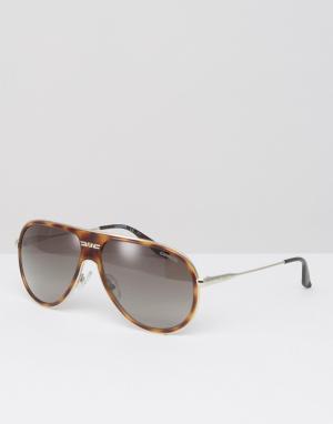 Carrera Солнцезащитные очки-маска Carrerra 87/S. Цвет: коричневый