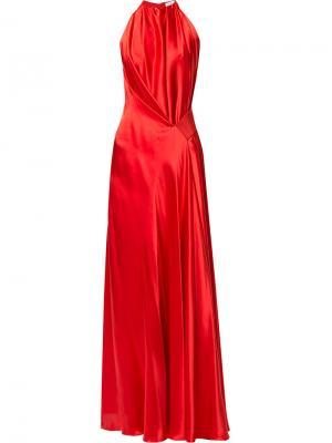 Вечернее платье Isabella Bianca Spender. Цвет: красный