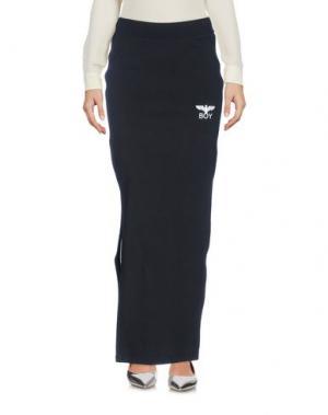 Длинная юбка BOY LONDON. Цвет: черный