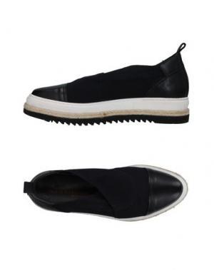 Низкие кеды и кроссовки LAURA BELLARIVA. Цвет: черный