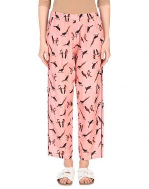 Повседневные брюки LAURA URBINATI. Цвет: розовый