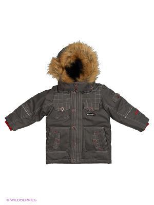 Куртка Gusti. Цвет: серый