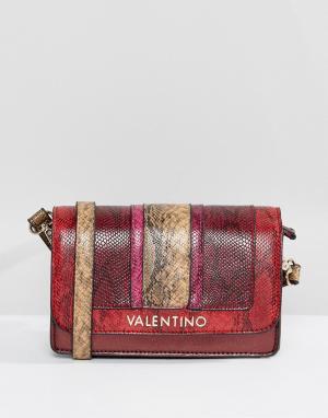 Valentino by Mario Сумка через плечо. Цвет: красный
