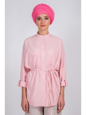 Блузка Bella kareema. Цвет: розовый