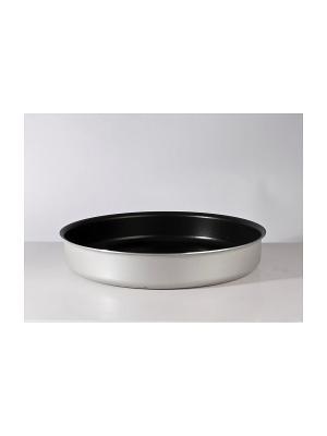 Форма для выпечки прямоугольная алюминиевая с антипригарным покрытием 36х27х7см Metalac Posude. Цвет: синий
