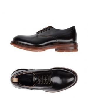 Обувь на шнурках MAURON. Цвет: темно-коричневый