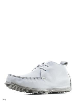 Ботинки STORM. Цвет: белый