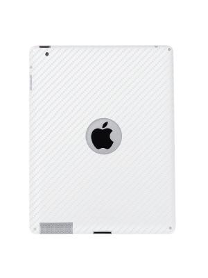 Карбоновая  пленка для задней панели iPad3 Belsis. Цвет: белый