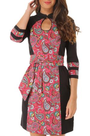 Платье Almatrichi. Цвет: мультицвет