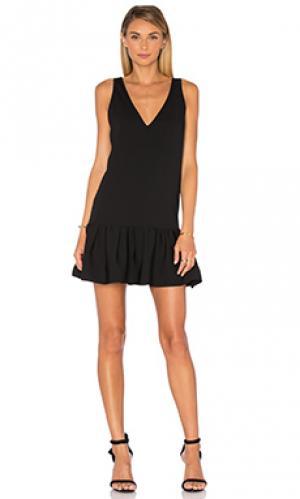 Платье carrie Amanda Uprichard. Цвет: черный