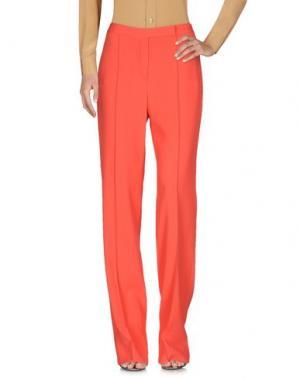 Повседневные брюки FONTANA COUTURE. Цвет: красный