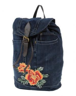 Рюкзаки и сумки на пояс STUDIO MODA. Цвет: темно-синий