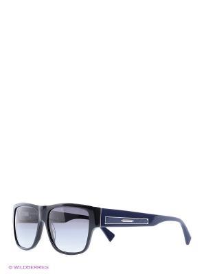 Солнцезащитные очки BLD 1511 104 Baldinini. Цвет: черный, синий