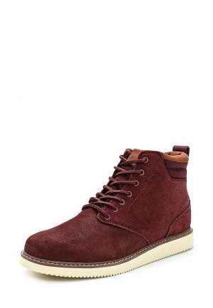 Ботинки DC Shoes. Цвет: бордовый