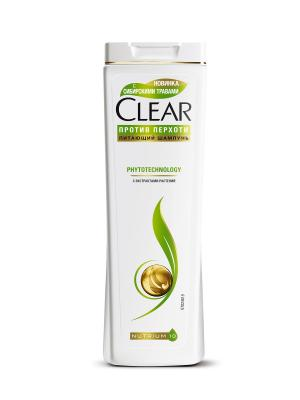 Шампунь Clear Phytotechnology 400 мл. Цвет: белый