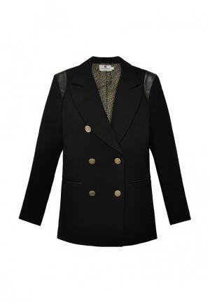 Пиджак Bergamoda. Цвет: черный