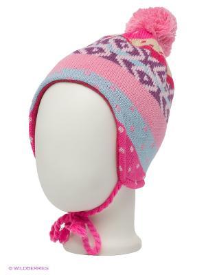 Шапка Maxval. Цвет: розовый, голубой, фиолетовый, бежевый, бледно-розовый