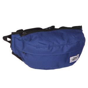 Сумка поясная  Minibag navy Anteater. Цвет: синий