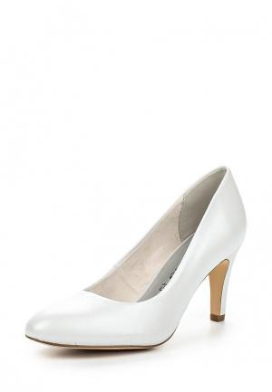 Туфли Tamaris. Цвет: белый