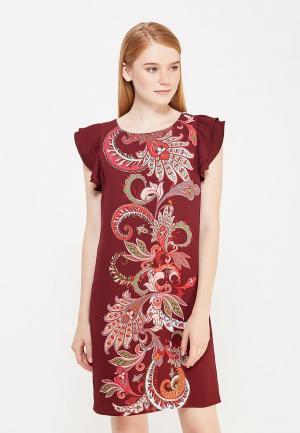 Платье Motivi. Цвет: бордовый