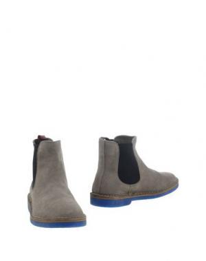 Полусапоги и высокие ботинки WALLY WALKER. Цвет: светло-серый