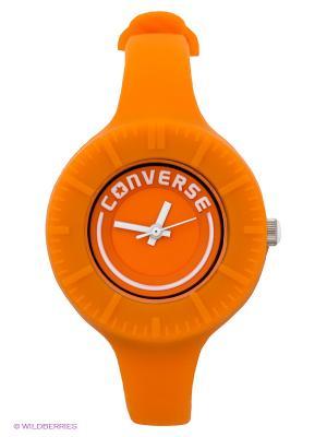 Часы Converse. Цвет: оранжевый
