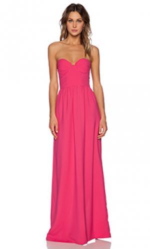 Макси платье Toby Heart Ginger. Цвет: розовый